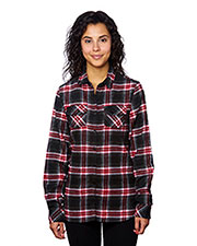 Burnside B5210   ' Plaid Boyfriend Flannel at GotApparel
