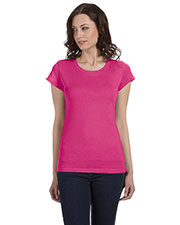 Bella + Canvas B8101 Women Sheer Jersey Short-Sleeve T-Shirt at GotApparel