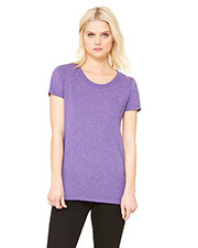 Bella + Canvas B8413 Women Tri-Blend Short-Sleeve T-Shirt at GotApparel