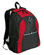 Port & Company BG1020 Unisex Improved Contrast Honeycomb Backpack at GotApparel