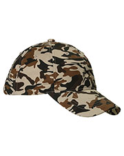 Big Accessories / BAGedge BX018 Unisex Unstructured Camo Hat at GotApparel