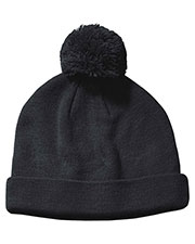 Big Accessories / BAGedge BX028 Men Knit Pom Beanie at GotApparel