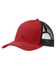 Port Authority C112    Snapback Trucker Cap at GotApparel