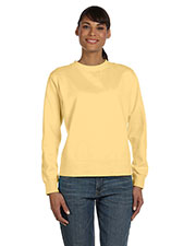 Comfort Colors C1596 Women 10 oz. Garment-Dyed WideBand Fleece Crew at GotApparel