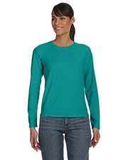 Comfort Colors C3014 Women Ringspun Garment Dyed Long-Sleeve T-Shirt at GotApparel