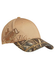 Port Authority C820 Unisex Embroidered Camouflage Cap at GotApparel