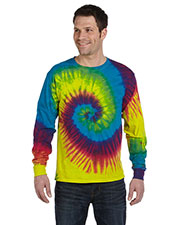 Tie-Dye CD2000 Men 5.4 oz., 100% Cotton Long Sleeve T-Shirt at GotApparel