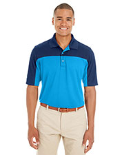 Ash City CE101 Men Balance Colorblock Performance Pique Polo at GotApparel