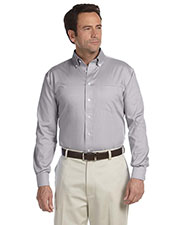 Chestnut Hill CH620 Men Executive Performance Pinpoint Oxford at GotApparel