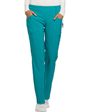Cherokee Ck002t  Mid Rise Straight Leg Pull-On Pant at GotApparel