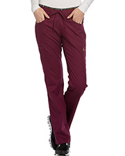 Cherokee Ck003p  Mid Rise Straight Leg Pull-On Pant at GotApparel