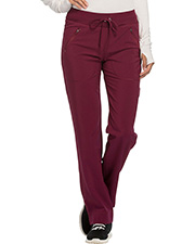 Cherokee Ck100a  Mid Rise Tapered Leg Drawstring Pants at GotApparel