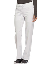 Cherokee Ck100at  Mid Rise Tapered Leg Drawstring Pants at GotApparel
