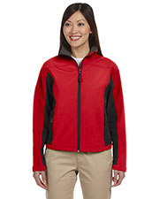 Devon & Jones Classic D997W Women Soft Shell Colorblock Jacket at GotApparel