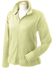 Devon & Jones Sport DG940W Women Interlock Full Zip Fleece Jacket at GotApparel
