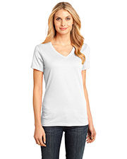 District Made DM1170L Women  Perfect Weight V-Neck Tee at GotApparel