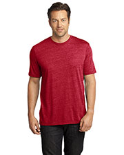 District DM370 Men Textured Crew Tee at GotApparel
