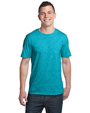 District DT1000 Adult Extreme Heather Crew Tee at GotApparel