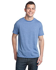 District DT142 Men Tri blend Crew Neck Tee at GotApparel