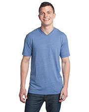 District DT142V Men TriBlend V-Neck Tee at GotApparel
