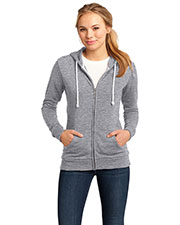 District DT290 Women Core Fleece Full Zip Hoodie at GotApparel