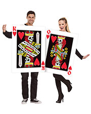 Halloween Costumes FW131814 King and Queen of Hearts 2 Costume at GotApparel