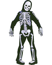 Halloween Costumes FW8736MD Boys Skelebones Child Medium at GotApparel