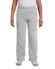 Gildan G184B Boys Heavy Blend 8 oz., 50/50 Open-Bottom Sweatpants at GotApparel