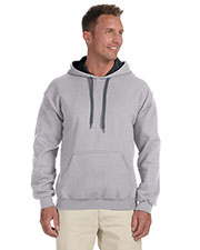 Gildan G185C Men Heavy Blend 8 Oz. 50/50 Contrast Hood at GotApparel