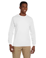 Gildan G241 Men Ultra Cotton 6 Oz. Long-Sleeve Pocket T-Shirt at GotApparel