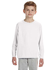 Gildan G424B Boys Performance 4.5 Oz. Long-Sleeve T-Shirt at GotApparel