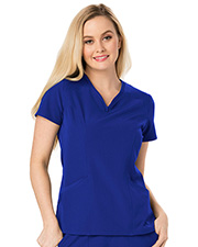 Heartsoul Hs650  Heart Zips A Beat V-Neck Top at GotApparel