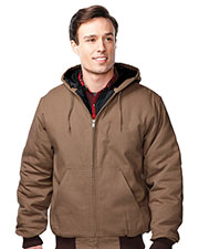 Tri-Mountain J4550 Men's Foreman Cotton Canvas Hooded Jacket at GotApparel