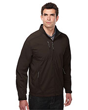TRI-MOUNTAIN PERFORMANCE J6205 Men Bonnington Dobby Full Zip Jacket at GotApparel