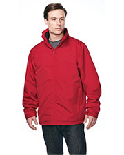 Tri-Mountain J8885 Men Maine 3 In 1 Zip Out Poly Fleece Shell Jacket at GotApparel