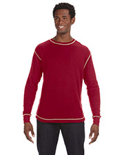 J America Ja8238  S Vintage Long-Sleeve Thermal T-Shirt at GotApparel