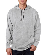J America J8613 Men Adult Cosmic Hooded Fleece at GotApparel