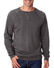 J America J8875 Adult Tri-Blend Fleece Crew at GotApparel