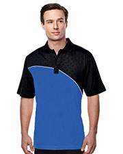 TRI-MOUNTAIN PERFORMANCE K147 Men Elite Short Sleeve Golf Shirt at GotApparel