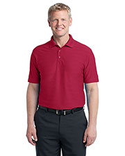 Port Authority K514 Men Horizontal Texture Polo at GotApparel