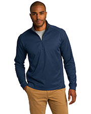 Port Authority K805 Men Vertical Texture 1/4-Zip Pullover at GotApparel