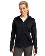 Sport-Tek L248 Women Tech Fleece Full Zip Hooded Jacket at GotApparel