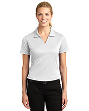 Sport-Tek L469 Women Dri Mesh V-Neck Polo at GotApparel