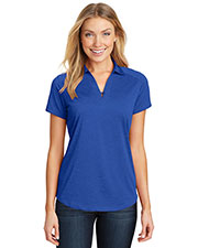 Port Authority L574 Women Digi Heather Performance Polo at GotApparel