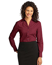 Port Authority L640 Women Crosshatch Easy Care Shirt at GotApparel