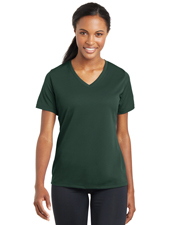 Sport-Tek® LST340 Women PosiCharge®  Racermesh  V-Neck Tee at GotApparel