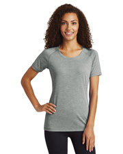 Sport-Tek® LST400 Women PosiCharge® Tri-Blend Wicking Scoop Neck  at GotApparel