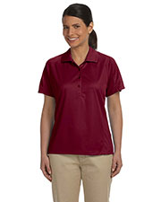 Harriton M374W Women 3.8 Oz. Polytech Mesh Insert Polo at GotApparel