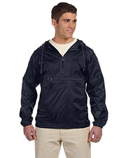Harriton M750 Men Packable Nylon Jacket at GotApparel