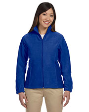 Harriton M990W Women 8 oz. Full Zip Fleece at GotApparel